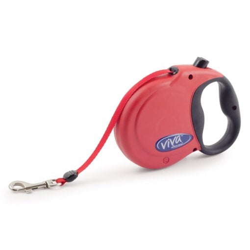 Small Viva Extendable 5mt Lead Red