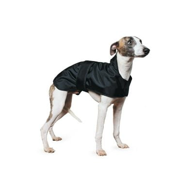 Muddy Paws Whippet Coat Black
