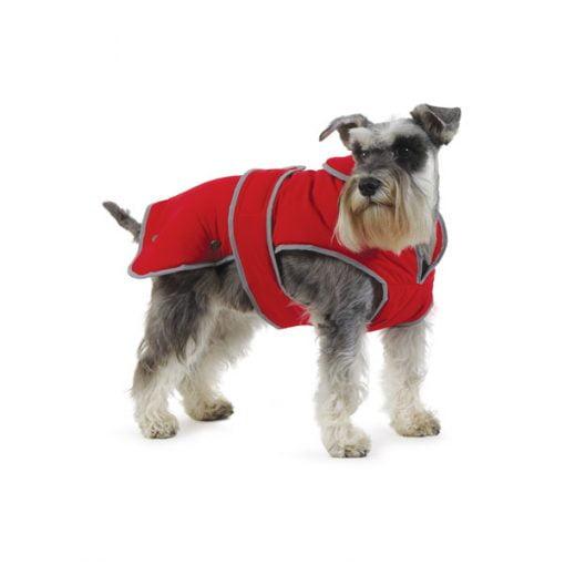 Muddy Paws Stormguard Coat Red