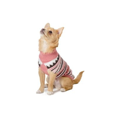 Muddy Paws Alpine Sweater Pink Mix