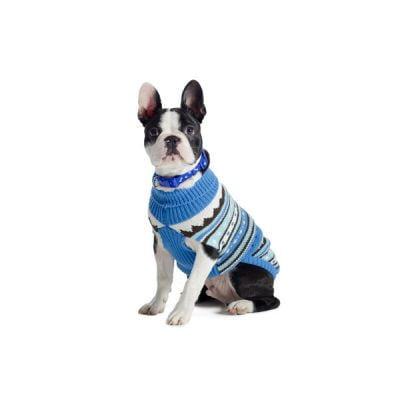 Muddy Paws Alpine Sweater Blue Mix