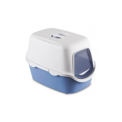 Cathy Hooded Toilet Blue