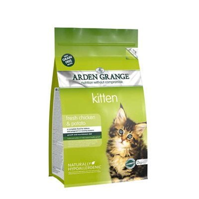 Arden Grange Kitten Food Chicken and Potato