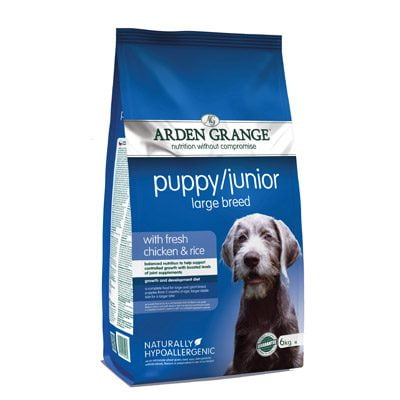 Arden Grange Pupp/Junior Large Breed Chicken & Rice