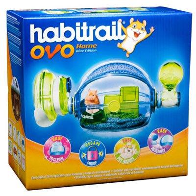 Habitrail OVO Home Hamster Cage Blue Box