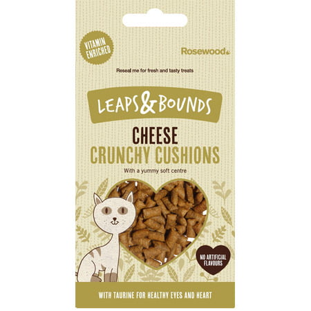 Leaps Bounds Crunchy Cheese Cushions