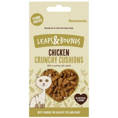 Leaps Bounds Crunchy Chicken Cushions