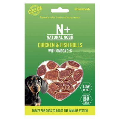 Natural Nosh+ Chicken and Fish Rolls Pack
