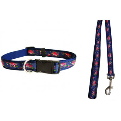 Wag n Walk Collar Floral