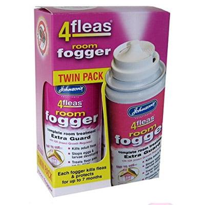 4 Fleas Fogger Twin Pack