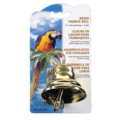 Brass Bell For Parrots