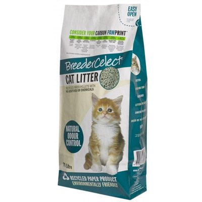 Breeder Celect Recycled Cat Litter