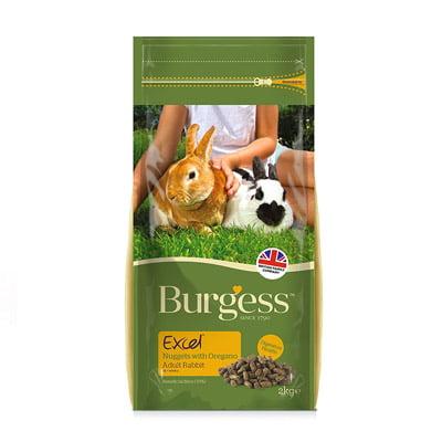 Burgess Excel Adult Rabbit Nuggets Oregano