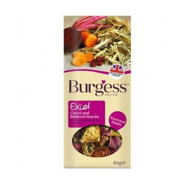 Burgess Excel Carrot Beetroot Snacks