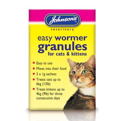 Easy Wormer Granules Cats Kittens