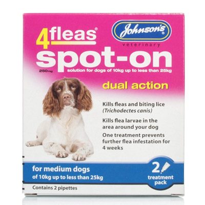 Johnsons 4Fleas Spot-on Medium Dogs