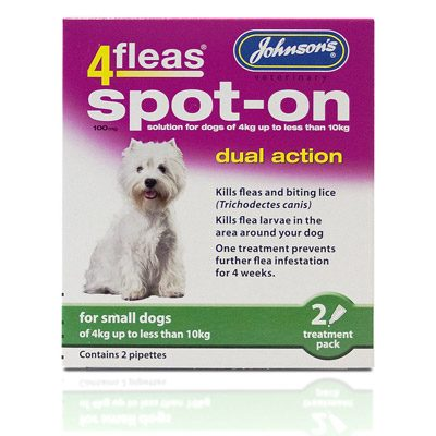 Johnsons 4Fleas Spot-on Small Dogs
