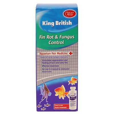 King British Fin Rot and Fungus Control