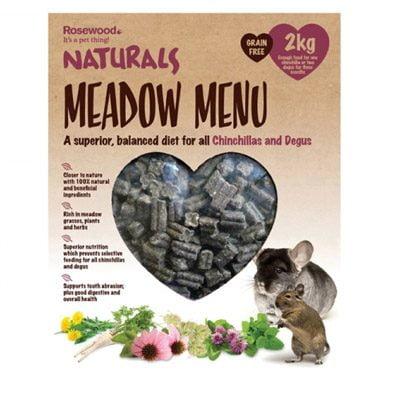 Naturals Meadow Menu Chinchilla Degu