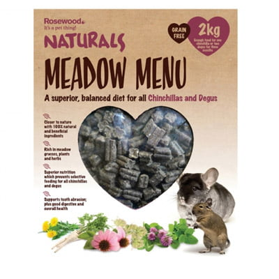 Naturals Meadow Menu Chinchilla Degu