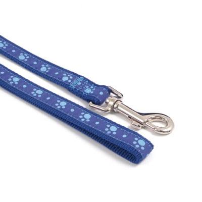 Wag n Walk Lead Blue Paw