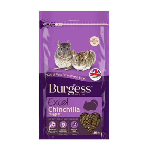 Burgess Excel Chinchilla Nuggets