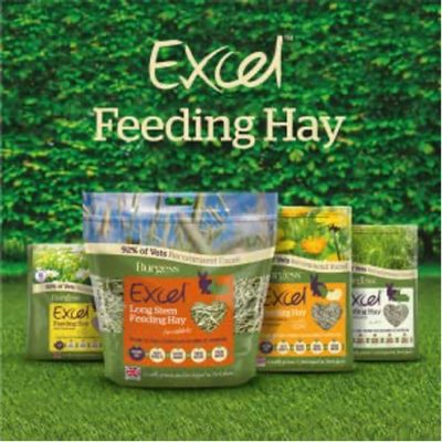Burgess excel feeding hay range