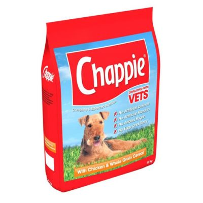 Chappie chicken dog food - 3kg