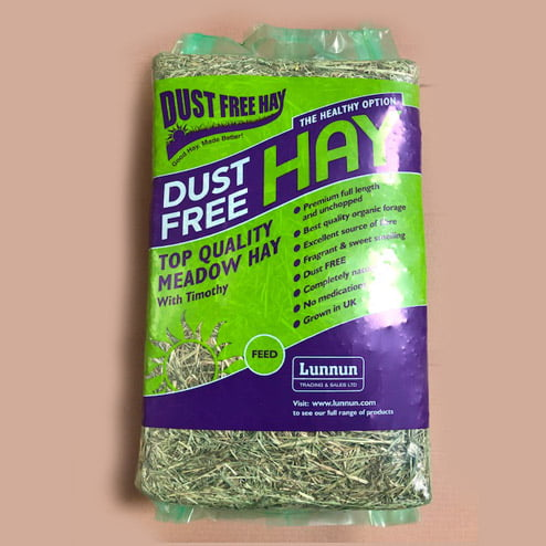 Dust free hay with Timothy Hay