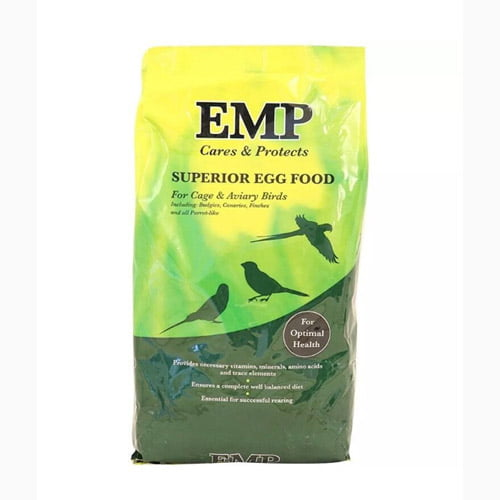 EMP egg food for caged birds