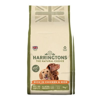Harringtons adult dog food - chicken and rice