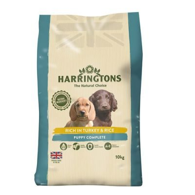 Harringtons puppy food - turkey and rice flavour