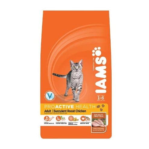 IAMS chicken flavour cat food