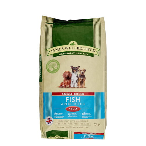 James Wellbeloved small breed - fish and rice