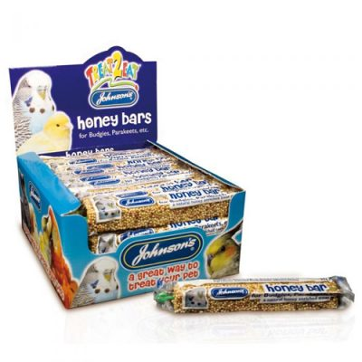 Johnsons honey bar for budgies