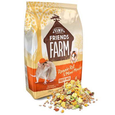 Supreme Tiny Friends Farm - Reggie Rat food