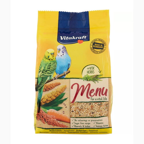 Vitakraft menu - food for budgies