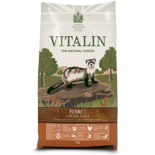 Vitalin ferret food - chicken and rice